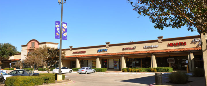Shopping Center in Richardson, Texas: Dal-Rich Towne Square